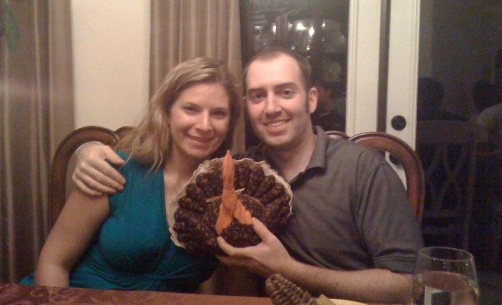 Scott & Julie at Thanksgiving